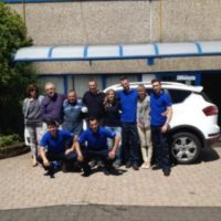 New diesel car staff