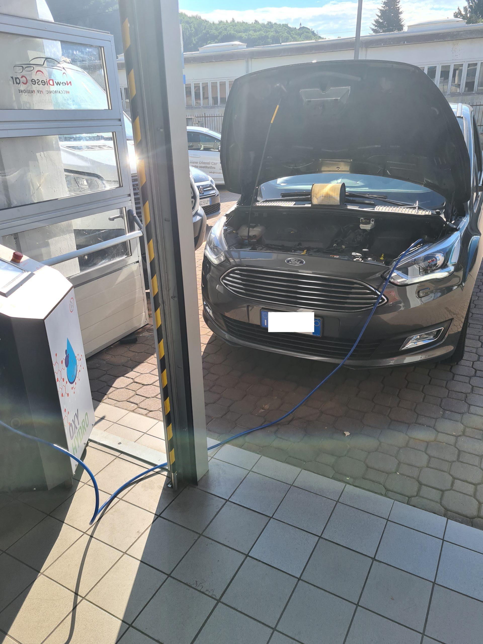 Docarbonizzazione Ford Smax
