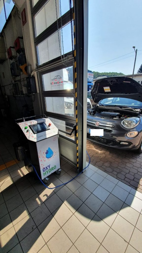Decarbonizzazione Fiat 500x